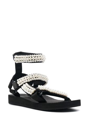 Love Pearl Embellished Sandals