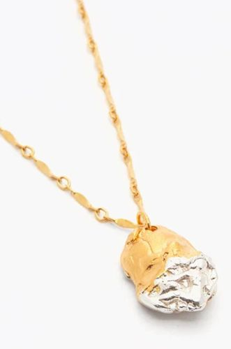 The Tale of Bea 24kt gold-plated necklace