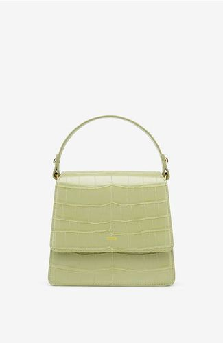 The Fae Top Handle Bag in Sage