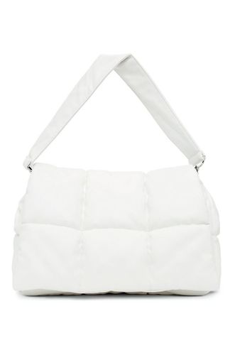 White Wanda Clutch Bag