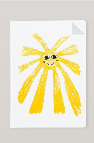 Recycled Stone Paper Notebook - Sun