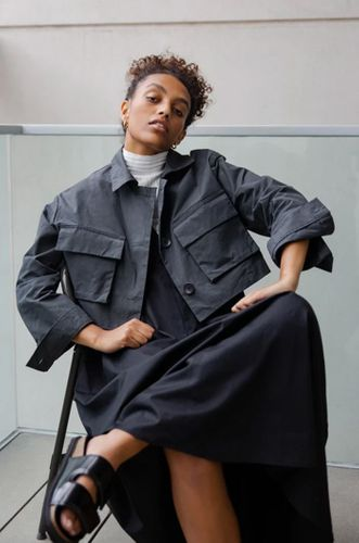 The Cropped Commuter Jacket