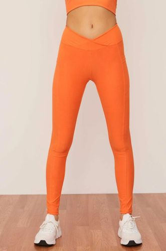 Lychee Ruched Crossover Pocket Sustainable Legging