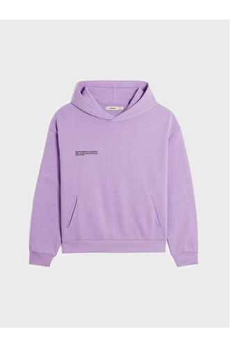 Heavyweight Recycled Cotton Hoodie - Orchid Purple