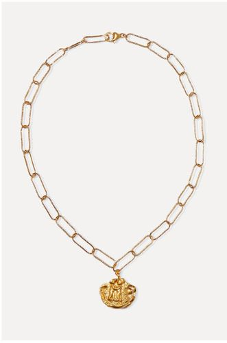 Paola and Francesca gold-plated necklace