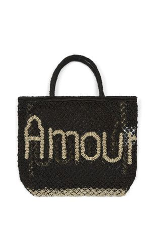 Amour Small Basket in Black