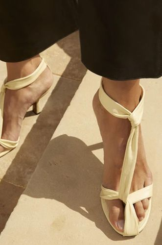 Proxima Sandal in Banana Nappa Leather