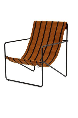 Desert Lounge Chair in Black