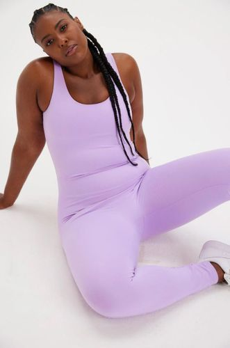 Lilac Scoop Sustainable Unitard
