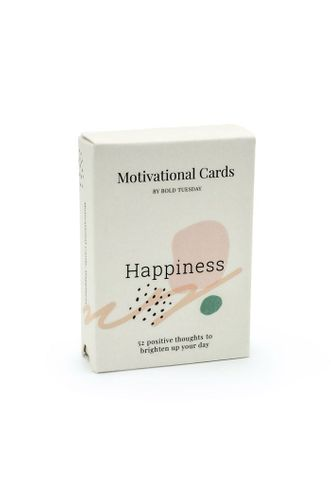 Happiness Motivational Cards