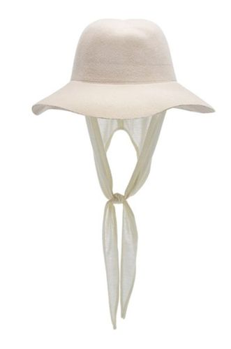 Aura Neckshade Detailed Anglora Hat