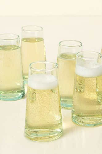 Recycled Stemless Flutes - Set of 6