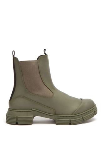 Chunky Recycled Rubber Chelsea Boots