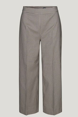 Checkered Recycled Polyester Kelly Trouser