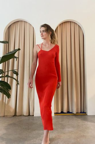 Linde Dress in Red