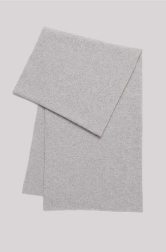Recycled Cashmere Scarf - Grey