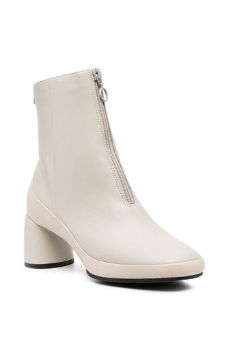 Responsible Leather Upright Ankle Boots