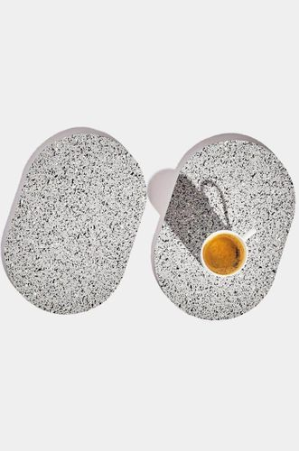 Capsule Recycled Rubber Trivet Duo - Gris