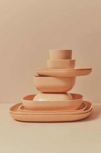 Recycled Bamboo Gusto Plate in Blush
