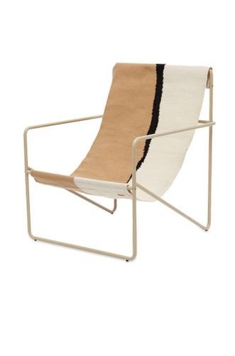 Desert Lounge Chair in Cashmere & Soil