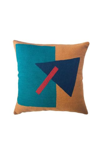 Madrid Wool Throw Pillow Cover - Triangle