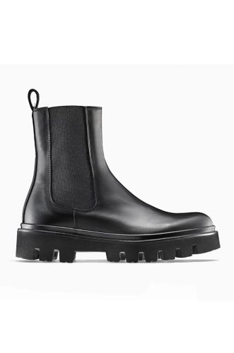Chelsea Black Leather Boots