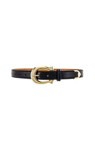 The Camille Belt in Black