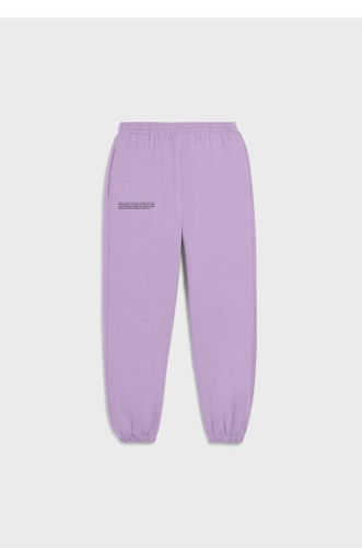 Heavyweight Recycled Cotton Track Pants - Orchid Purple